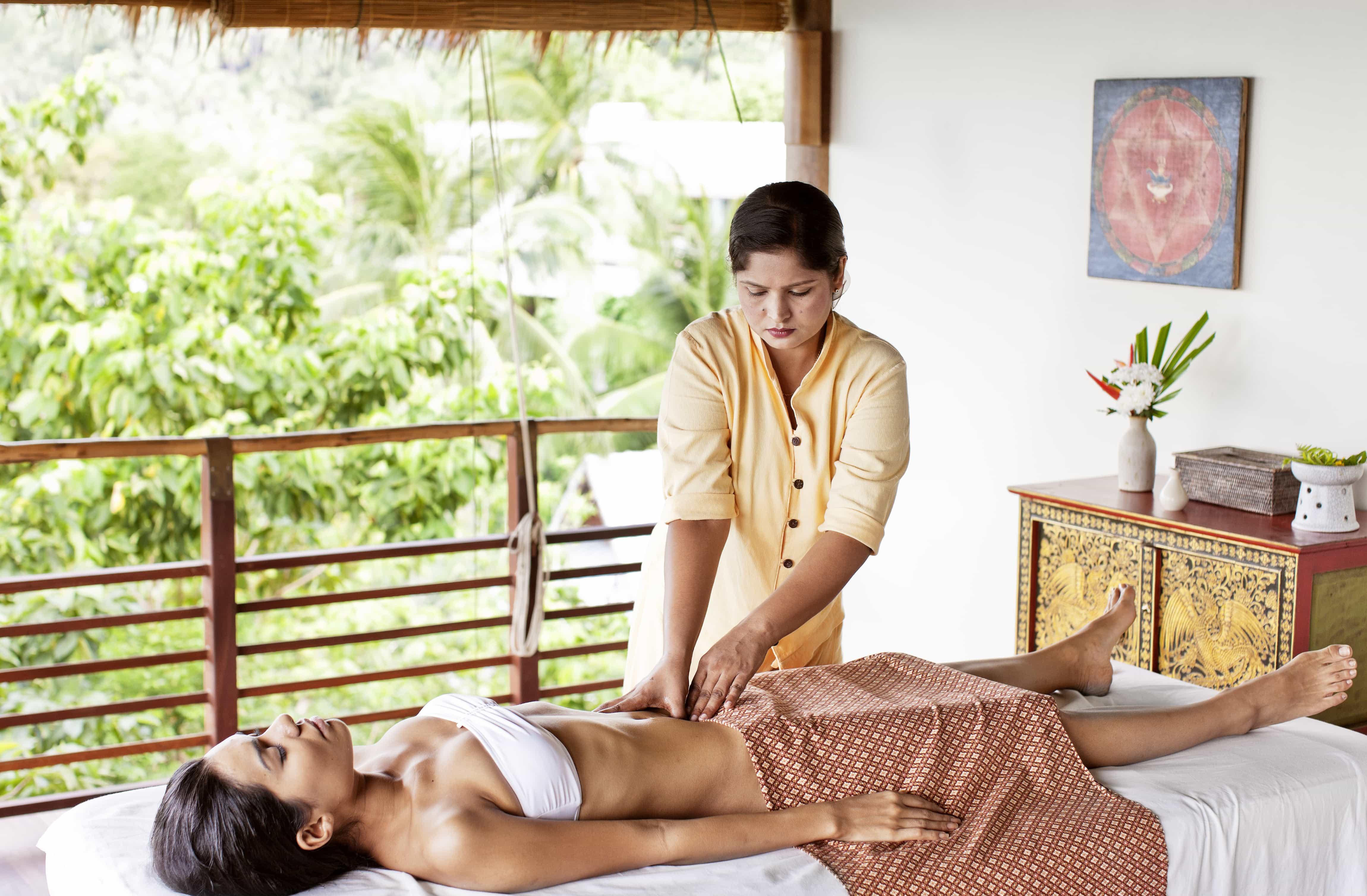 Massage the days away | Image courtesy of Kamalaya