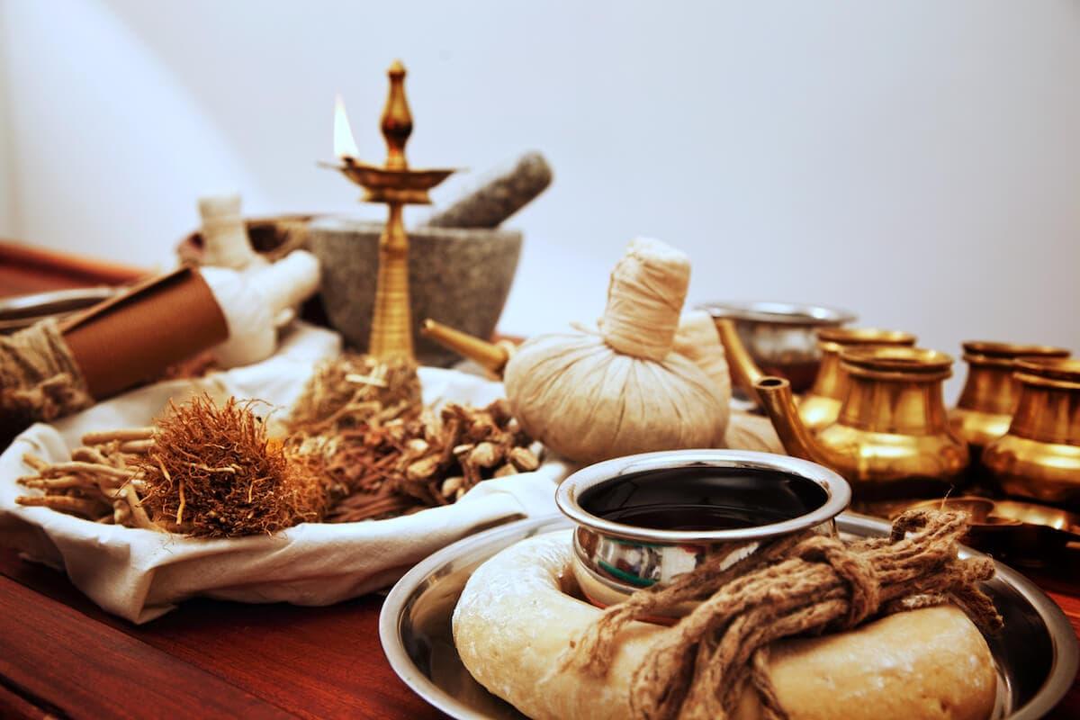 ayurveda aromatherapy cover image